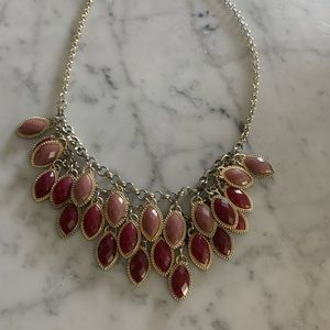 Francesca's Collections Jewelry - Francesca's pink statement necklace